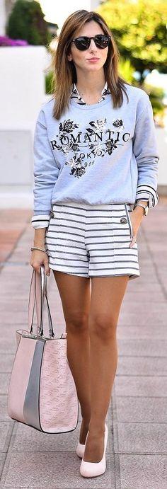 Romantic Sweater Styling