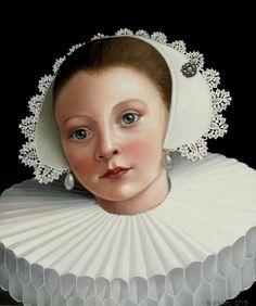 'Meisje met parels'  2015 by Suzan Visser