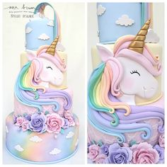 67 Ideas Cupcakes Birthday Cake Design For 2019 Unicorn Birthday Parties, Unicorn Party, Birthday Party Themes, Girl Birthday, Unicorn Cakes, Birthday Design, Cupcake Birthday Cake, Cupcake Cakes, Cupcakes Decorados