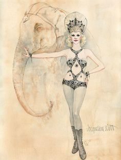 Costumes in 'Water for Elephants' by Jacqueline West