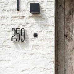 Totaal renovatie hoeve | FB Interieurvormgever Home Interior Design, Interior And Exterior, Rachel House, House Numbers, Architecture Details, My Dream Home, Decoration, B & B, Sweet Home