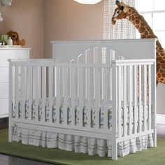 Have to have it. Fisher-Price Lansdale 4-in-1 Convertible Crib - Snow White $209.99