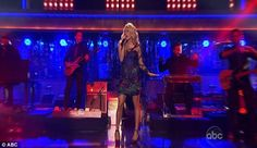 Carrie Underwood on Dancing With The Stars #DWTS #CarrieUnderwood
