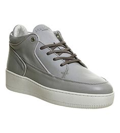 Grand leather trainers
