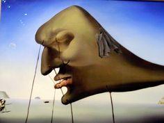 *m. Salvador Dali - Sleep, 1937