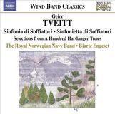 Geirr Tveitt: Sinfonia di Soffiatori; Sinfonietta di Soffiatori; Selections from A Hundred Hardanger Tunes [CD]
