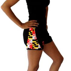Maryland Flag / Running Shorts (Women) Route One Apparel (NEED)
