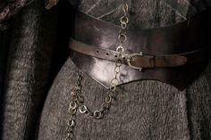 Detail of Sansa stark costume game of thrones