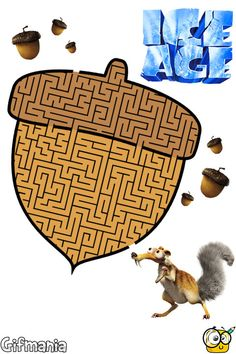 Ice Age Maze