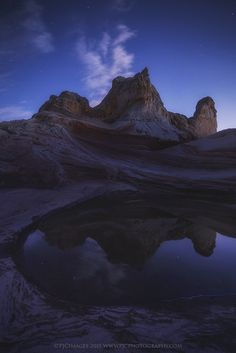 Pocket of Reflection by Peter James Nature Photography  on 500px
