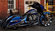 Victory Motorcycles, Indian Motorcycles, Harley Davidson Motorcycles, Cars And Motorcycles, Victory Mc, Victory Cross Country, Bagger Motorcycle, Drift Trike, Custom Baggers