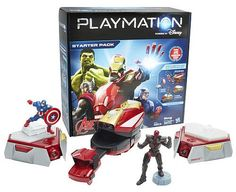 Playmation Marvel Avengers Starter Pack Repulsor + Giveaway! #Disney #Playmation #Marvel #Avengers #Hasbro #Duracell #ToysRUs #Giveaway AD