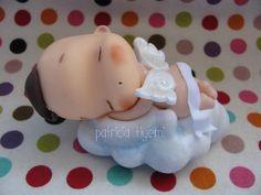 *COLD PORCELAIN ~ Um anjo Fofinho para o Raphael! by Patricia Tiyemi