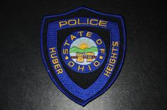 Huber Heights Police Patch, Montgomery County, Ohio