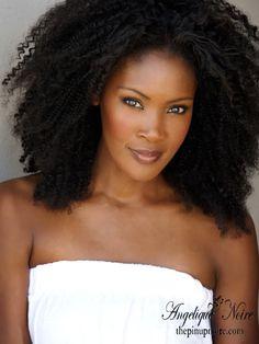 The New Elegant Black Woman: Should Black Women Wear Their Natural ...