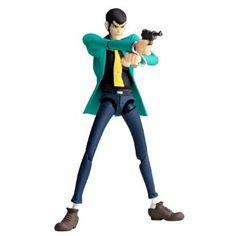 (Kids Internet Games)Revoltech Yamaguchi : Lupin III First Series Anime Ver. Yamaguchi, Anime Figures, Action Figures, Manga Anime, Lupin The Third, Comic, Anime Version, Cartoon Tv, Japan