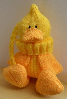 This knitting pattern is for a knitted monkey he is adorable and quacky baggles easter gift bag negle Gallery