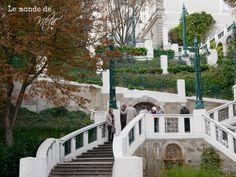 """#Blogparade Nr. 48 """"Herbstgedicht /Strudelhofstiege II"""" - wieder einmal nimmt uns Astrid auf eine wunderbare Reise mit. In Wien führt sie uns auf die Strudlhofstiege mit dem Gedicht von Doderer im Hinterkopf - tolle Fotos! http://lemondedekitchi.blogspot.de/2014/10/herbstgedicht-strudlhofstiege-ii.html Foto: Astrid"""