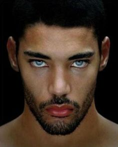 Look at those eyes ;) French model Willy Monfret