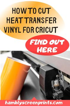 Find out how to cut heat transfer vinyl for Cricut here. See more details from this pin! #vinyl #cricut #cricutmachine #heattransfervinyl #heattransfer Cricut Heat Transfer Vinyl, Cricut Vinyl, Vinyl Art, Vinyl Decals, Wall Decals, Ring Doorbell, Vinyl Shirts, Vinyl Cutter, Colour List