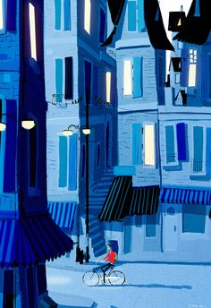 pascal campion: Scorcher , and cool down    Beautiful blue