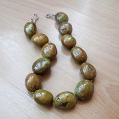 Brown turquoise necklace!
