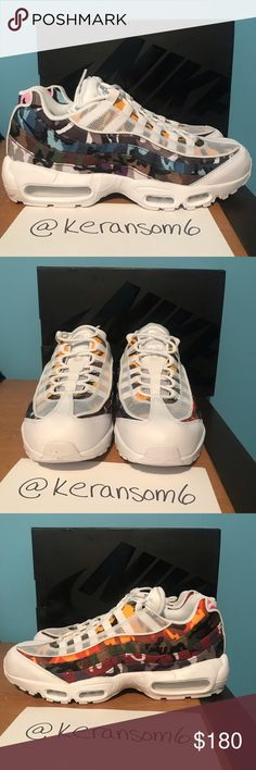087be74de NEW Nike Air Max 95  ERDL Party  White New dead stock Nike Air Max