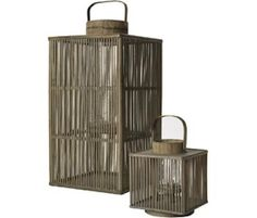 The Seasonal Metal Lantern - Medium by notNeutral Enhance your outdoor experience with these Season patterned metal lanterns in three colors. They are dram