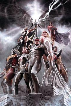 X-Men by Adi Granov