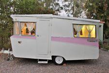 Retro Vintage Caravan 1965 Carapark  ebay, sold.