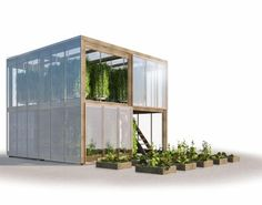 Human Habitat's Flatpack hydroponic garden delivers 538-square-feet of fresh food to cities | Inhabitat - Sustainable Design Innovation, Eco Architecture, Green Building