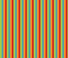 Monster stripe fabric by tracydw70 on Spoonflower - custom fabric