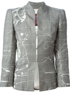 Купить John Galliano Vintage пиджак в ломаную клетку  в House of Liza from the world's best independent boutiques at farfetch.com. 400 бутиков, 1 адрес. .