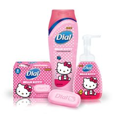 Only Hello Kitty can get me to head to the Evil Empire Walmart. Dial has launched a new, limited edition selection of Hello Kitty themed goodies in Hello Kitty Gifts, Hello Kitty Items, Hello Kitty Products, Hello Kitty Stuff, Hello Kitty House, Sanrio Hello Kitty, Hello Kitty Bathroom, Dial Soap, Hello Kitty Collection