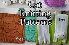 Cat and Kitten Knitting Patterns