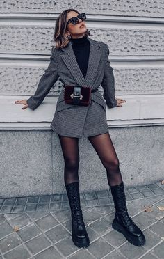Early Fall Outfits, Winter Fashion Outfits, Fall Winter Outfits, Look Fashion, Autumn Fashion, Womens Fashion, Cute Casual Outfits, Stylish Outfits, Outfit Chic