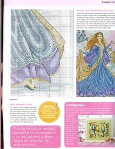 Princess Cinderella (Joan Elliott) From Cross Stitch Gold N°90 2012 6 of 6