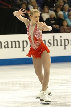 Agnes Zawadzki. I remember when I trained in Chicago along side Agnes. I remember watching her skate and saying I wanted to be like her. Now she's on her way to the Olympics and I couldn't be more excited! (I mean it's no surprise since we had the worlds best coaches and trainers.) Go Agnes! :)