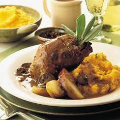 Pot-roasted partridge with sage @ allrecipes.co.uk