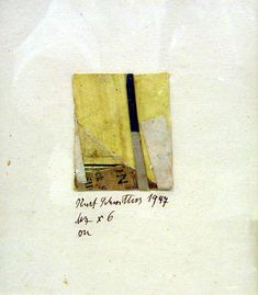 """tendegreeshotter: """"Merz """"On"""" Kurt Schwitters (German, Hanover Kendal) and pasted printed papers on paper, mounted on paper, in artist made wood. Mixed Media Collage, Collage Art, Collages, Kurt Schwitters, Maker Culture, Visual Diary, Mark Rothko, Watercolor Artists, Modern Artists"""