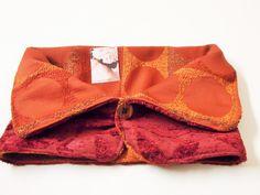 scaldacollo in tessuto damascato reversibie di Sogni d'Arte by Adalgisa su DaWanda.com
