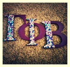 Gamma Phi Beta Nu Chapter, not my chapter but love the design Phi Sigma Sigma, Delta Phi Epsilon, Kappa Kappa Gamma, Alpha Sigma Alpha, Alpha Phi Omega, Pi Beta Phi, Phi Mu, Gamma Phi Crafts, Sorority Crafts