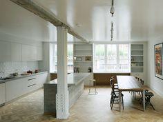 Cozinha remodelada Arquiteto: Feilden Fowles Fonte: desiretoinspire
