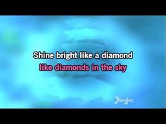 Karaoke Diamonds - Rihanna * - YouTube