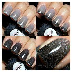 True Blood SHIFTER custom hand crafted nail polish by justricarda Cute Nail Art, Cute Nails, Pretty Nails, Nail Art Grunge, True Blood, Jennifer Nails, Nail Manicure, Pedicure, Nail Time