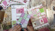 Plan With Me; Watermelon Theme; Plum Paper Planner - Kikki K Binder.  Ju...
