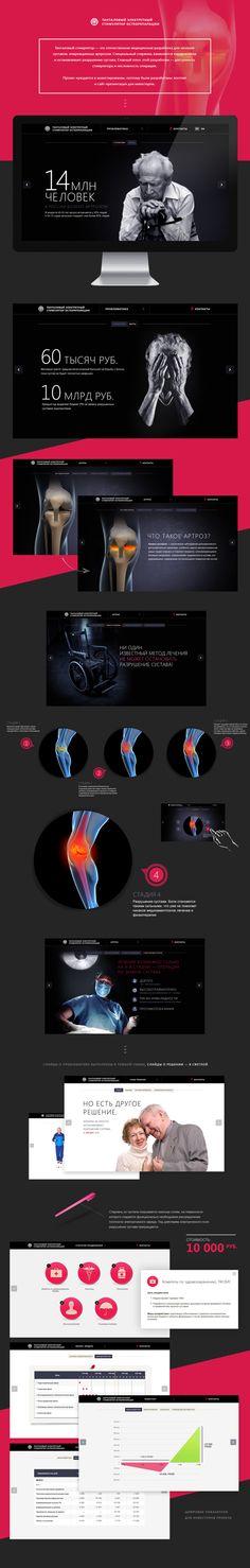 New treatment of osteoarthritis on Behance