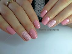 Design Seattle Deal of the Day Groupon Seattle elegant nails kingwood - Elegant Nails Elegant Nail Designs, Simple Nail Art Designs, Elegant Nails, Fall Nail Designs, Rose Nail Art, Rose Nails, Flower Nails, Pink Nails, Fabulous Nails
