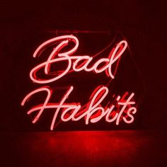 Bad habits Die hard. If your feeling this vibe then follow my  Pinterest @onelitlife