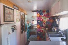 Our Newly Renovated Trailer Tour!   Wildflowers Photography
